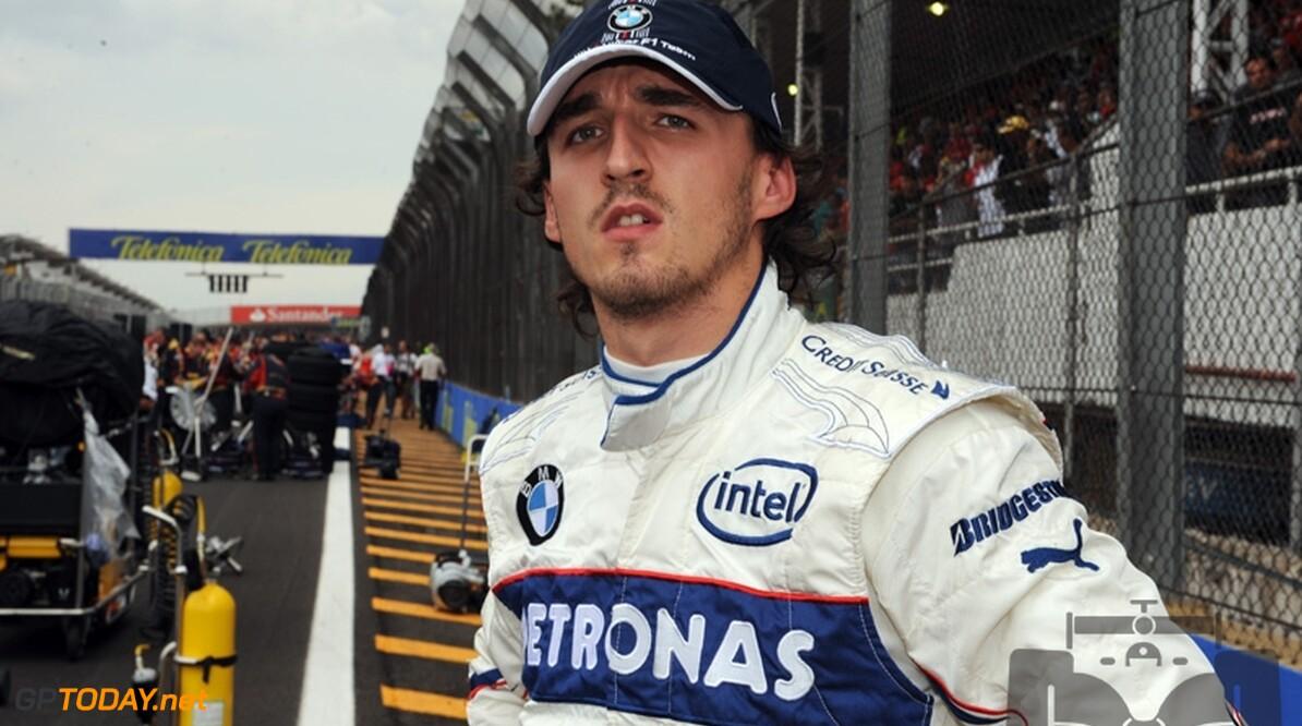 Kubica baalt van verspelen derde plaats in WK-stand
