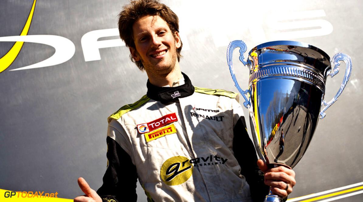 Asia-kampioen Romain Grosjean gaat voor titel in Main Series