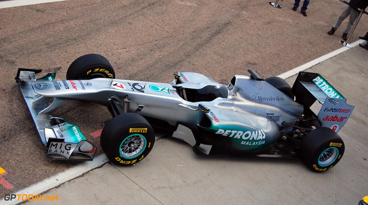 Foto's: Mercedes GP onthult officieel de W02