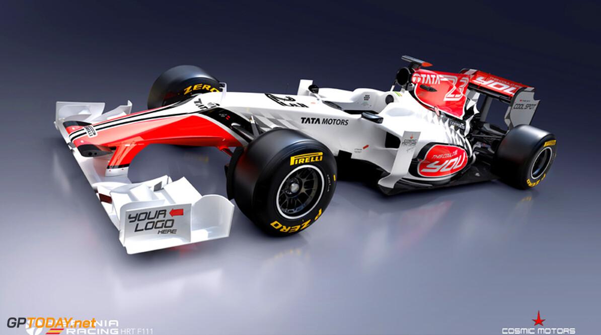 <b>Foto's:</b> HRT toont eerste beelden van F111 in wit en rood