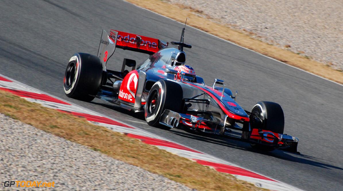 """Button: """"Vettel gaat het jaar natuurlijk als favoriet in"""""""