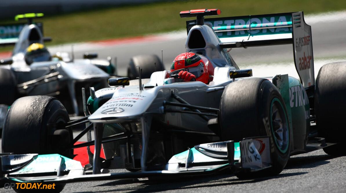 Mercedes GP zoekt limiet van Resource Restriction Agreement op