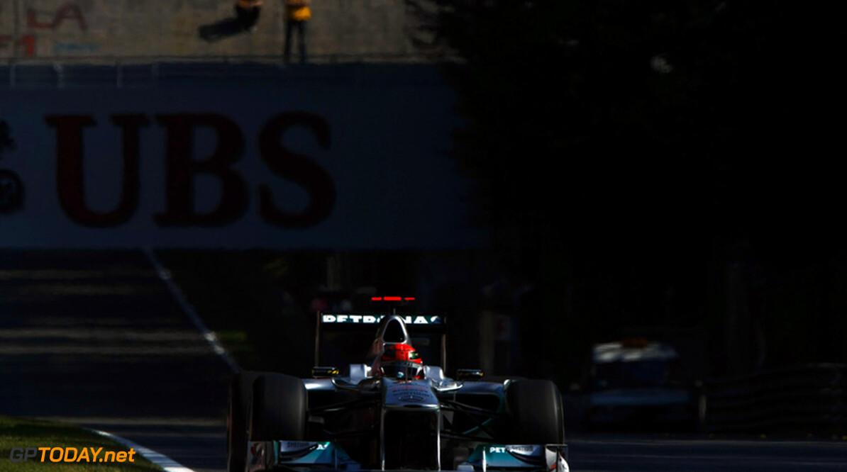 Daimler-baas vol lof over optreden van Schumacher in Monza
