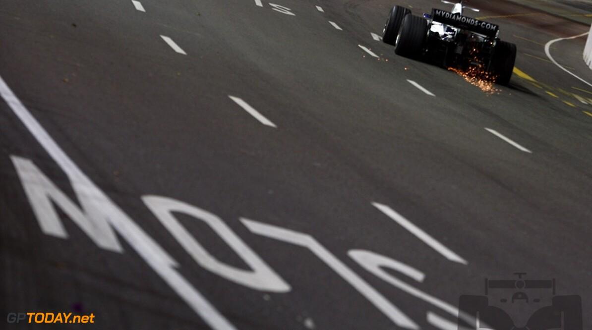 Droge Fuji Speedway het beste voor Williams FW30