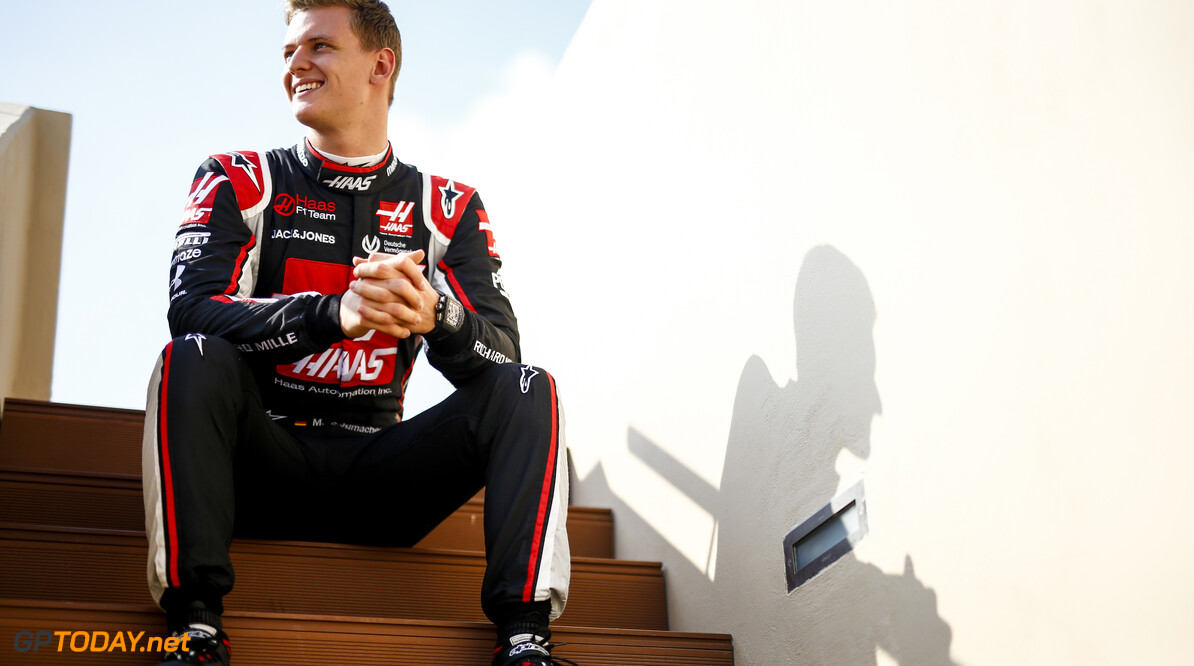 2020 Abu Dhabi GP YAS MARINA CIRCUIT, UNITED ARAB EMIRATES - DECEMBER 09: Mick Schumacher, Haas F1 during the Abu Dhabi GP at Yas Marina Circuit on Wednesday December 09, 2020 in Abu Dhabi, United Arab Emirates. (Photo by Andy Hone / LAT Images) 2020 Abu Dhabi GP Andy Hone Yas Island United Arab Emirates  portrait