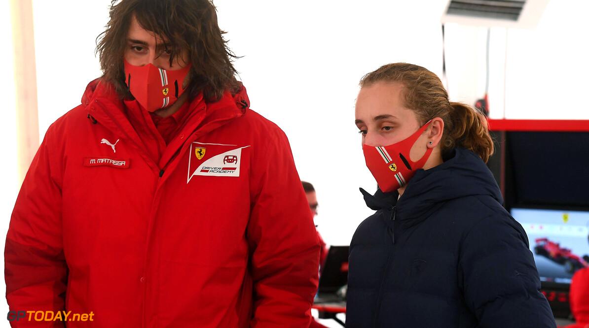 Maya Weug dit jaar actief in het Italiaans Formule 4-kampioenschap