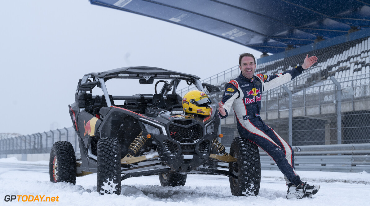 Robert Doornbos poses for a portrait at the circuit in Zandvoort, The Netherlands on February 8, 2021. // Jarno Schurgers/Red Bull Content Pool // SI202102080181 // Usage for editorial use only //  Robert Doornbos     SI202102080181