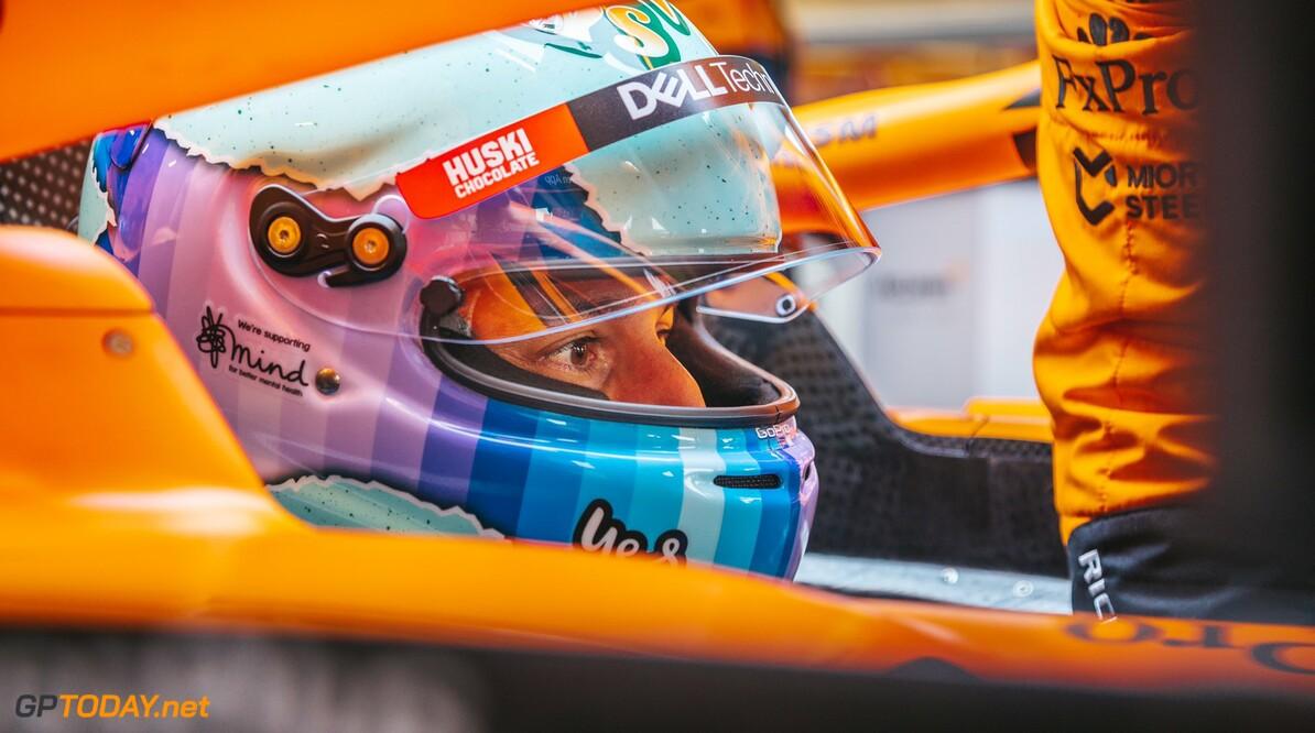 <b>Video:</b> Het debuut van Daniel Ricciardo in de McLaren MCL35M
