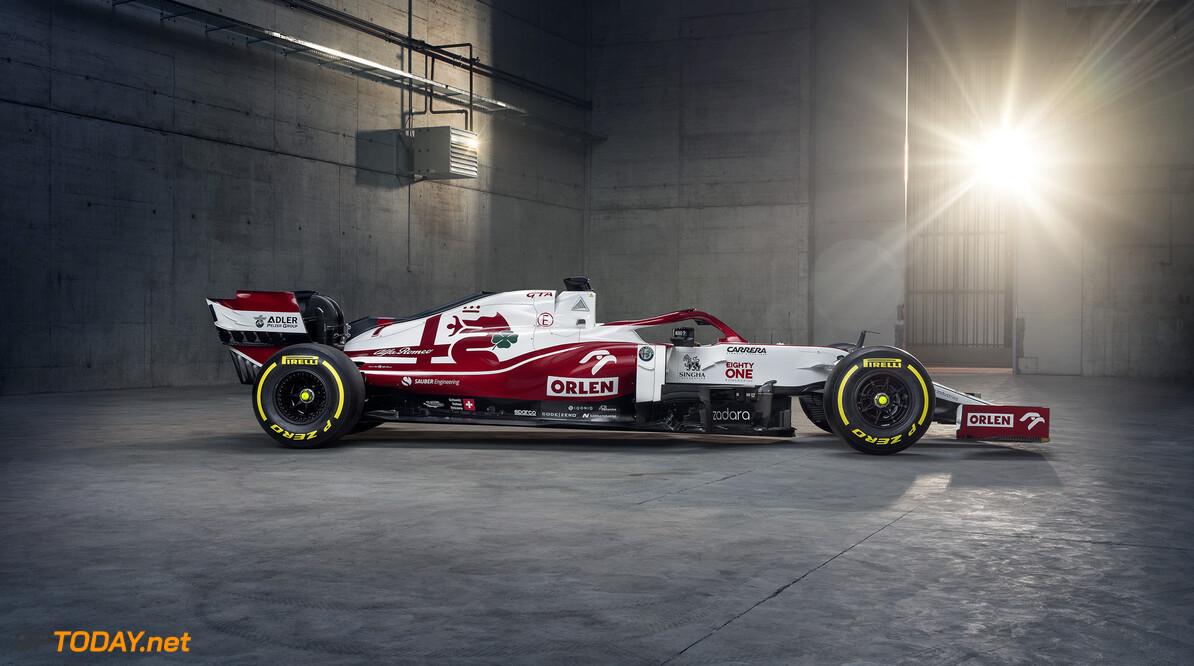 Alfa Romeo Orlen reveals its Formula1 car for season 2021