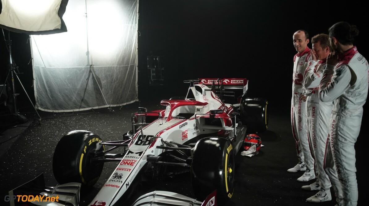 Alfa Romeo laat shakedown C41 vrijdag over aan Robert Kubica