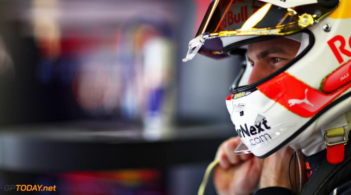 NORTHAMPTON, ENGLAND - FEBRUARY 24: Max Verstappen of Netherlands and Red Bull Racing prepares to drive in the garage during the Red Bull Racing Filming Day at Silverstone on February 24, 2021 in Northampton, England. (Photo by Dan Istitene/Getty Images for Red Bull Racing) // Getty Images / Red Bull Content Pool  // SI202102240116 // Usage for editorial use only //  Max Verstappen     SI202102240116