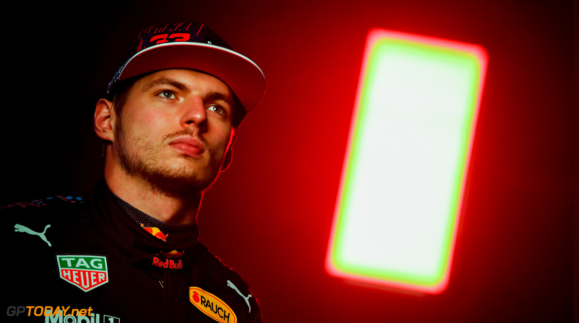 NORTHAMPTON, ENGLAND - FEBRUARY 24: Max Verstappen of Netherlands and Red Bull Racing poses for a photo during the Red Bull Racing Filming Day at Silverstone on February 24, 2021 in Northampton, England. (Photo by Mark Thompson/Getty Images for Red Bull Racing) // Getty Images / Red Bull Content Pool  // SI202102240137 // Usage for editorial use only //  Max Verstappen     SI202102240137