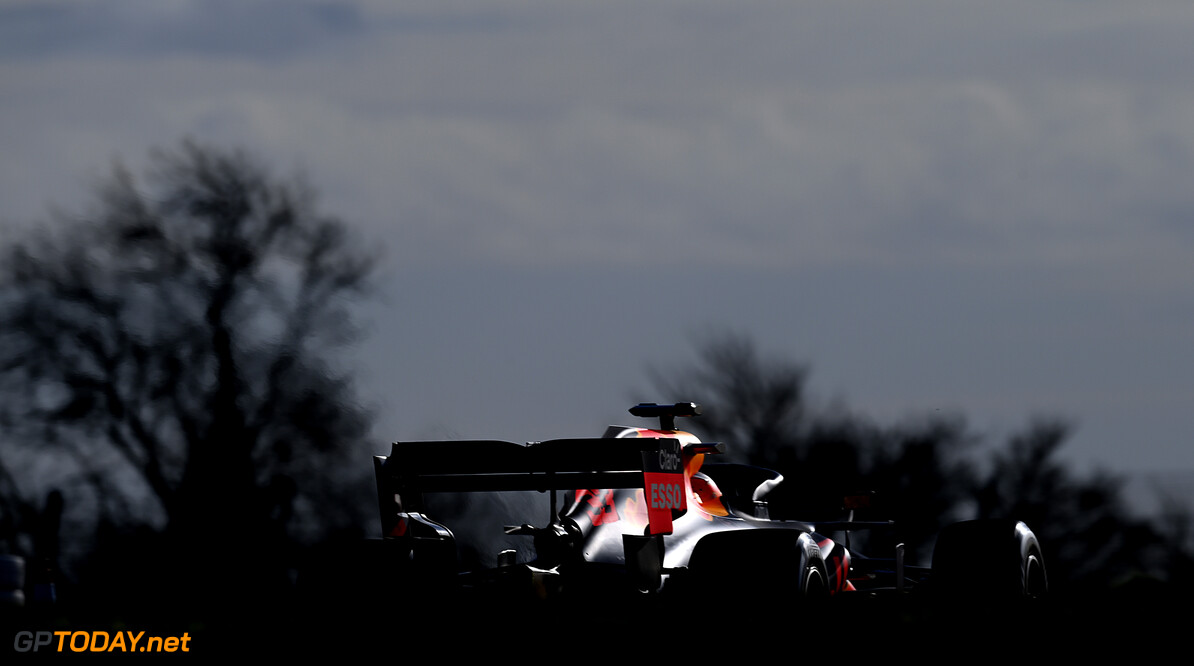 NORTHAMPTON, ENGLAND - FEBRUARY 24: Max Verstappen of Netherlands driving the Red Bull Racing RB15 Honda during the Red Bull Racing Filming Day at Silverstone on February 24, 2021 in Northampton, England. (Photo by Clive Mason/Getty Images for Red Bull Racing) // Getty Images / Red Bull Content Pool  // SI202102240223 // Usage for editorial use only //  Red Bull Racing Filming Day     SI202102240223