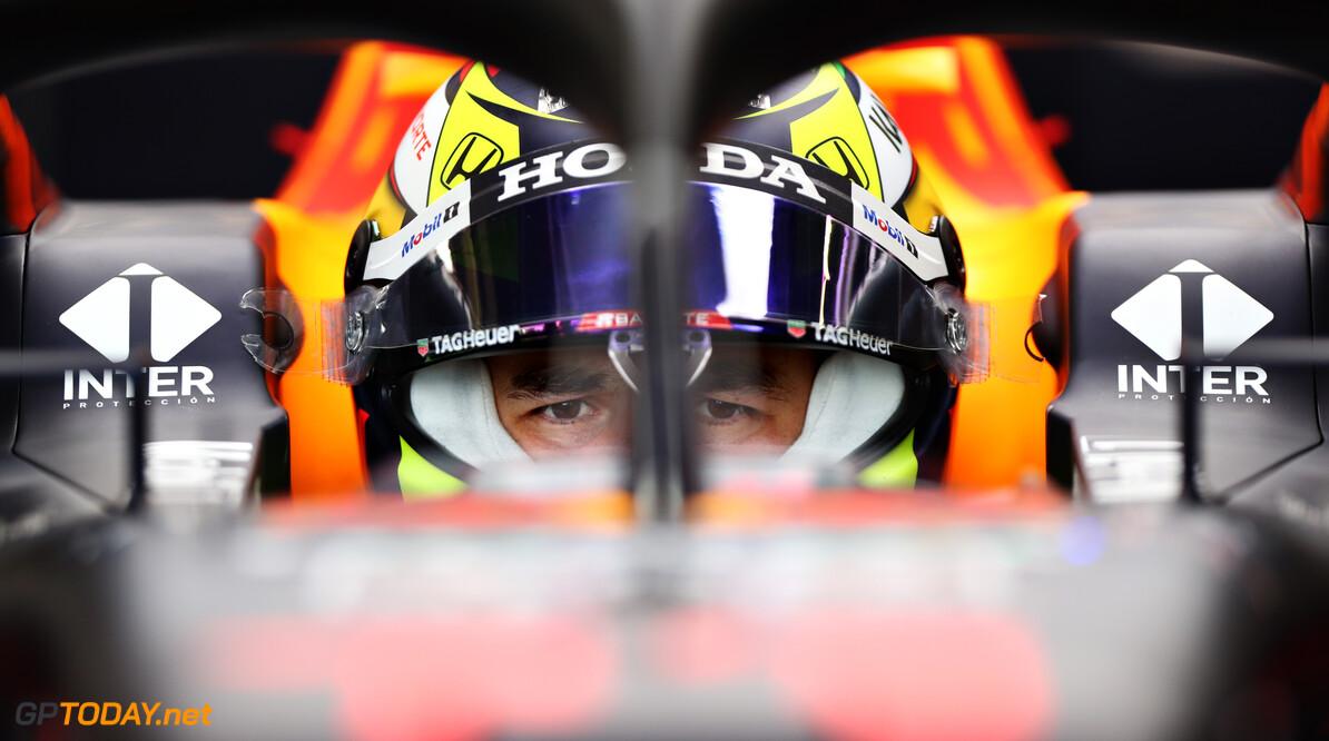 """Perez van plan het """"Mercedes moeilijk te maken"""" na eerste Red Bull-test"""