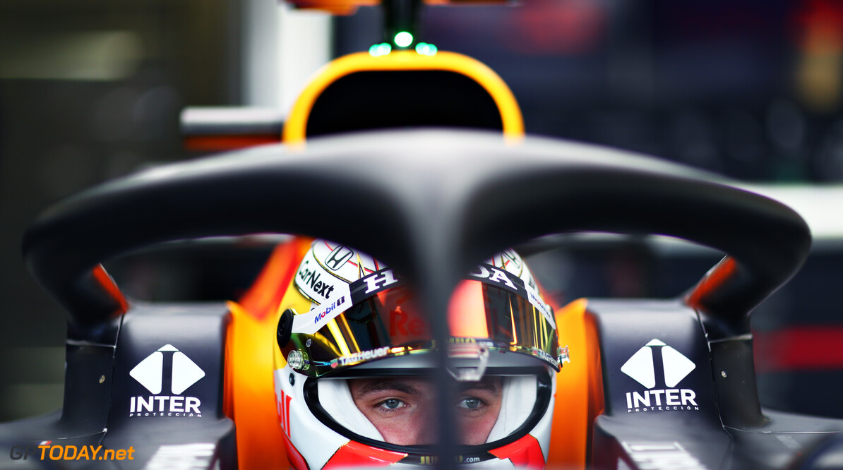 NORTHAMPTON, ENGLAND - FEBRUARY 24: Max Verstappen of Netherlands and Red Bull Racing prepares to drive in the garage during the Red Bull Racing Filming Day at Silverstone on February 24, 2021 in Northampton, England. (Photo by Dan Istitene/Getty Images for Red Bull Racing) // Getty Images / Red Bull Content Pool  // SI202102240169 // Usage for editorial use only //  Max Verstappen     SI202102240169