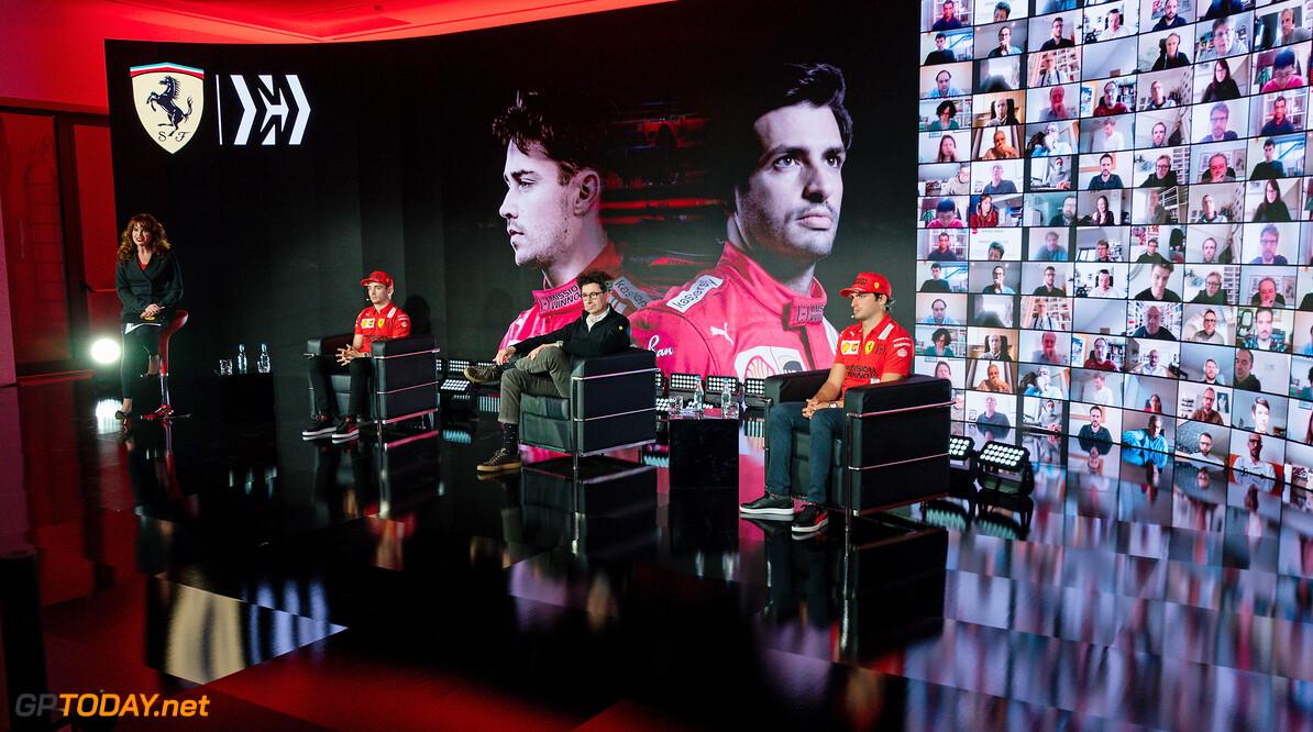 2021 TEAM LAUNCH - MARANELLO 26/02/2021 2021 FERRARI TEAM LAUNCH  - MARANELLO 26/02/2021 credit: (C) Scuderia Ferrari Press Office FERRARI FDA - F1 DEBUT (C) FOTO COLOMBO IMAGES SRL MARANELLO ITALIA