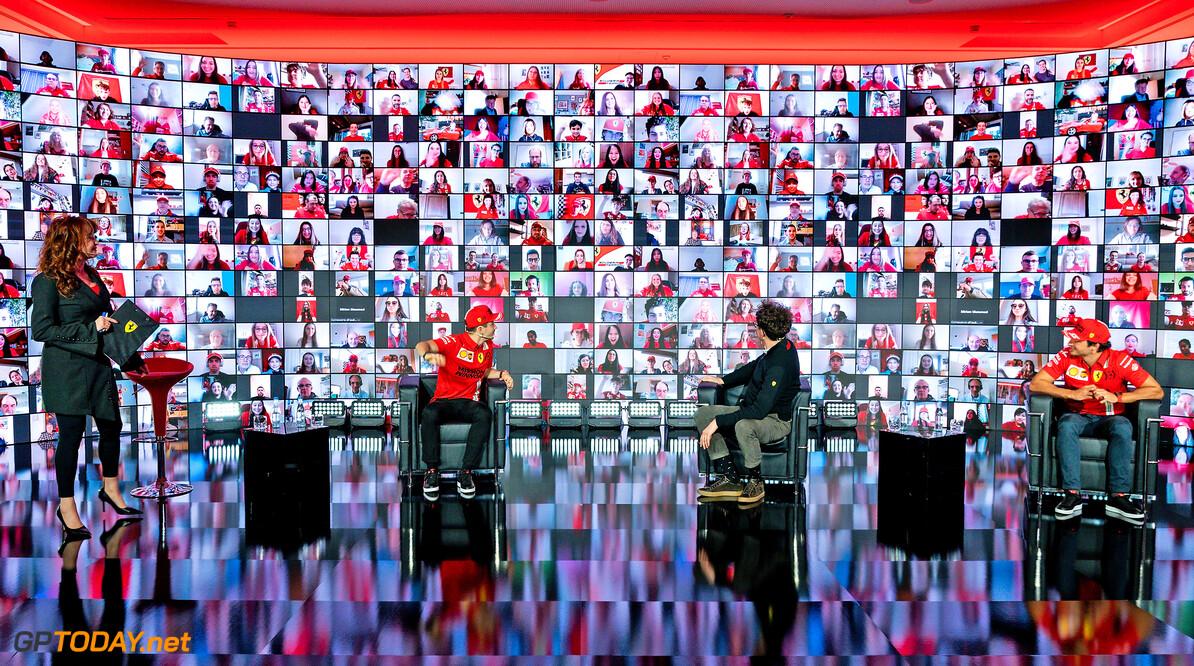 2021 TEAM LAUNCH - MARANELLO 26/02/2021 2021 FERRARI TEAM LAUNCH  - MARANELLO 26/02/2021 credit: (C) Scuderia Ferrari Press Office  (C) FOTO COLOMBO IMAGES SRL MARANELLO ITALIA