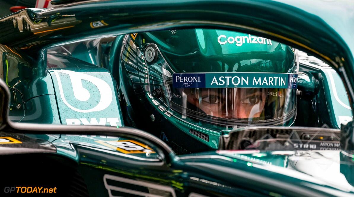 Lance Stroll stapt over op helm in Aston Martin-kleuren