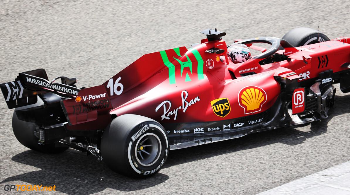 Logo van Mission Winnow prijkt in Imola op de bolides van Ferrari