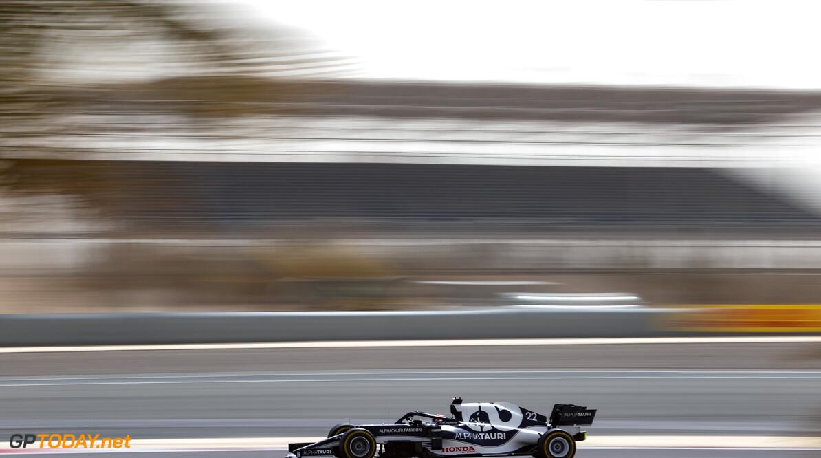 Formula One World Championship Yuki Tsunoda (JPN), Alpha Tauri  13.03.2021. Formula 1 Testing, Sakhir, Bahrain, Day Two. - www.xpbimages.com, EMail: requests@xpbimages.com (C) Copyright: Charniaux / XPB Images Motor Racing - Formula One Testing - Day Two - Sakhir, Bahrain xpbimages.com Sakhir Bahrain  Formel1 Formel F1 Formula 1 Formula1 Test Testing one Bahrain International Circuit BIC Manama Bahrain Sakhir Saturday March 13 03 3 2021 Action Track