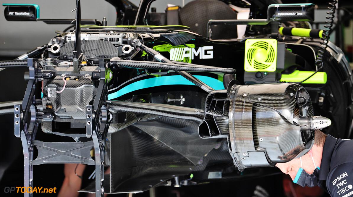 Mercedes W12 krijgt mogelijk nieuw ontworpen vloer
