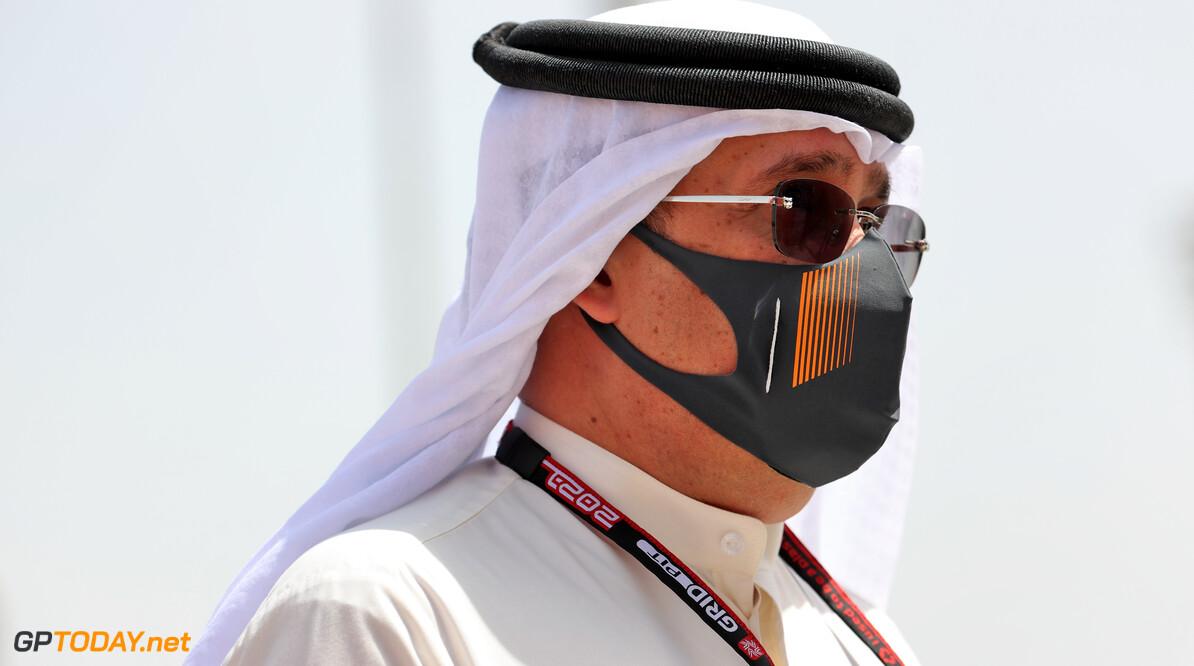 Sheikh Mohammed bin Essa Al Khalifa (BRN) CEO of the Bahrain Economic Development Board and McLaren Shareholder.
