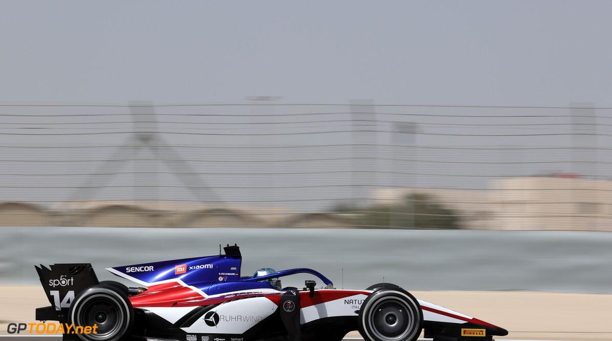 FIA Formula 2 Championship David Beckmann (GER), Charouz Racing System 26.03.2021. FIA Formula 2 Championship, Rd 1, Practice and Qualifying, Sakhir, Bahrain, Friday. - www.xpbimages.com, EMail: requests@xpbimages.com Copyright: XPB Images Motor Racing - FIA Formula 2 Championship - Friday - Sakhir, Bahrain xpbimages.com Sahkir Bahrain  Friday Bahrain International Circuit Bahrain Manama Sakhir Formula Two Formula 2 26 03 3 2021 March Action Track