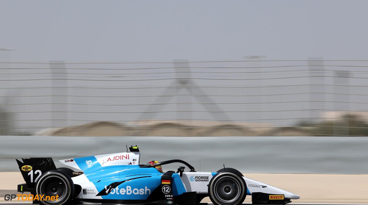 FIA Formula 2 Championship Lirim Zendeli (GER), MP Motorsport 26.03.2021. FIA Formula 2 Championship, Rd 1, Practice and Qualifying, Sakhir, Bahrain, Friday. - www.xpbimages.com, EMail: requests@xpbimages.com Copyright: XPB Images Motor Racing - FIA Formula 2 Championship - Friday - Sakhir, Bahrain xpbimages.com Sahkir Bahrain  Friday Bahrain International Circuit Bahrain Manama Sakhir Formula Two Formula 2 26 03 3 2021 March Action Track