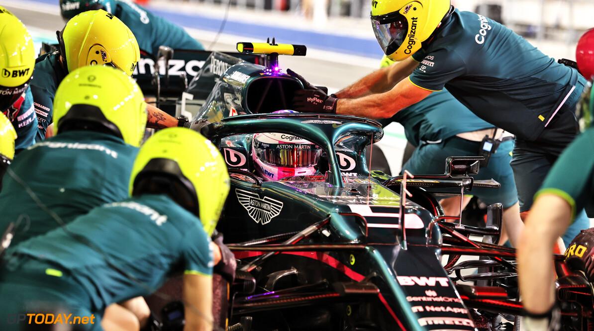 """Vettel wijzigt afstelling van zijn Aston Martin: """"Die maken een enorm verschil"""""""