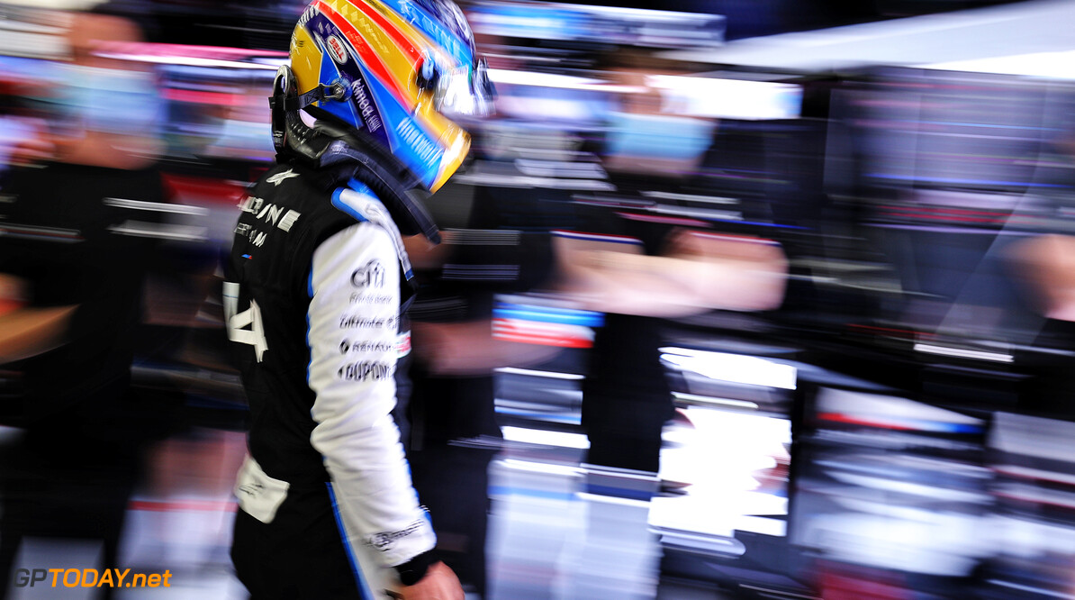 Gebrek aan vertrouwen bij Fernando Alonso zorgt voor moeilijk weekend