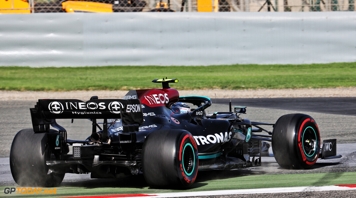 """Bottas na derde plek kwalificatie GP Bahrein: """"Het is <i>game on</i> voor morgen!"""""""