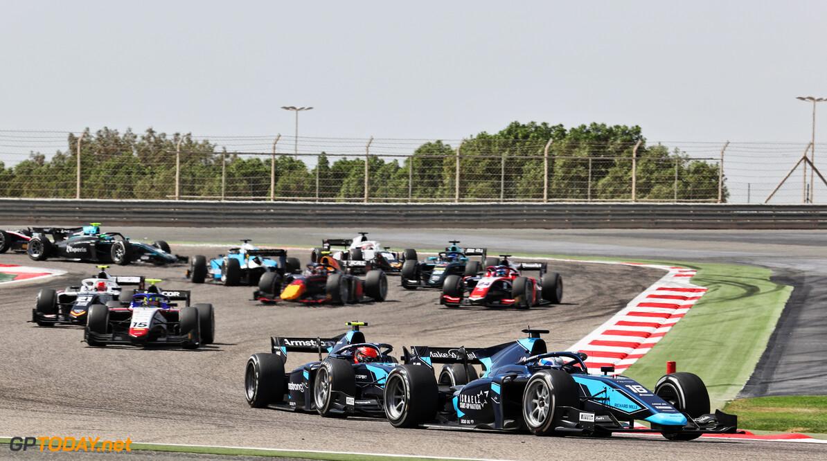 FIA Formula 2 Championship Roy Nissany (ISR) Dams.  27.03.2021. FIA Formula 2 Championship, Rd 1, Sprint Race 1, Sakhir, Bahrain, Saturday.  - www.xpbimages.com, EMail: requests@xpbimages.com Copyright: XPB Images Motor Racing - FIA Formula 2 Championship - Saturday - Sakhir, Bahrain xpbimages.com Sahkir Bahrain  F2 Bahrain International Circuit Bahrain Manama Sakhir Saturday Formula 2 Formula Two March 27 03 3 2021 Action Track