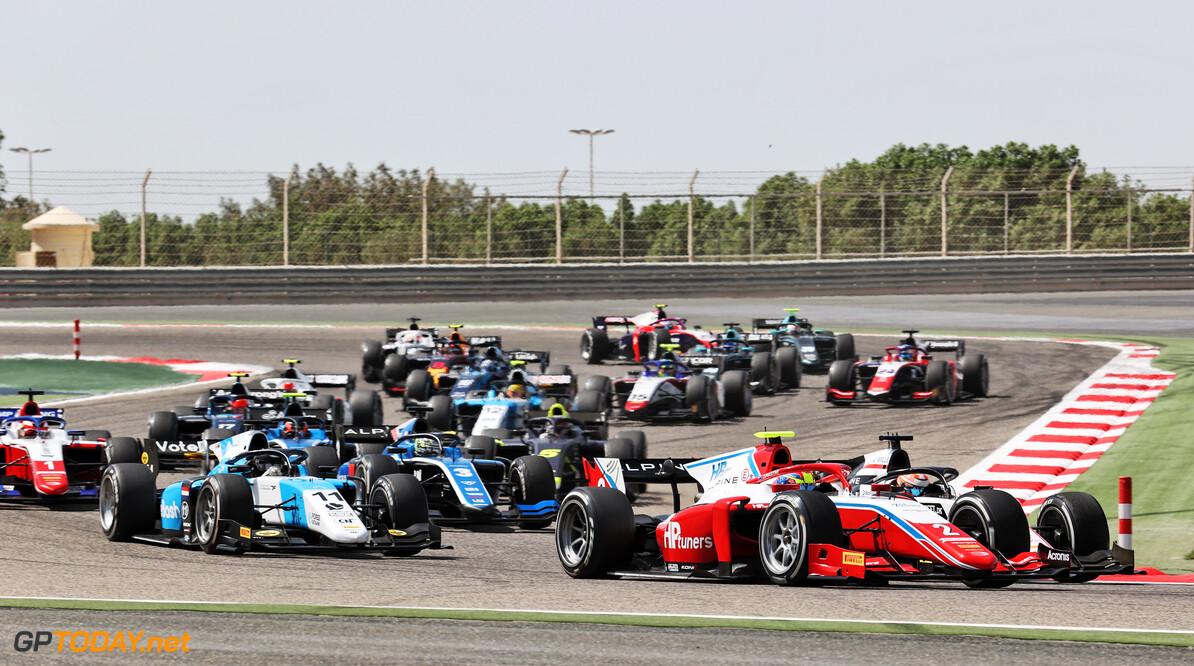 FIA Formula 2 Championship Oscar Piastri (AUS) PREMA Racing.  27.03.2021. FIA Formula 2 Championship, Rd 1, Sprint Race 1, Sakhir, Bahrain, Saturday.  - www.xpbimages.com, EMail: requests@xpbimages.com Copyright: XPB Images Motor Racing - FIA Formula 2 Championship - Saturday - Sakhir, Bahrain xpbimages.com Sahkir Bahrain  F2 Bahrain International Circuit Bahrain Manama Sakhir Saturday Formula 2 Formula Two March 27 03 3 2021 Action Track
