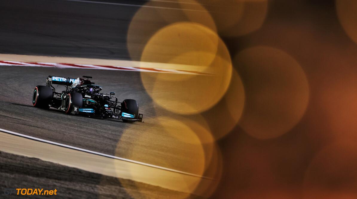 """Hamilton na tweede plek kwalificatie GP Bahrein: """"Ik heb alles gegeven vandaag"""""""