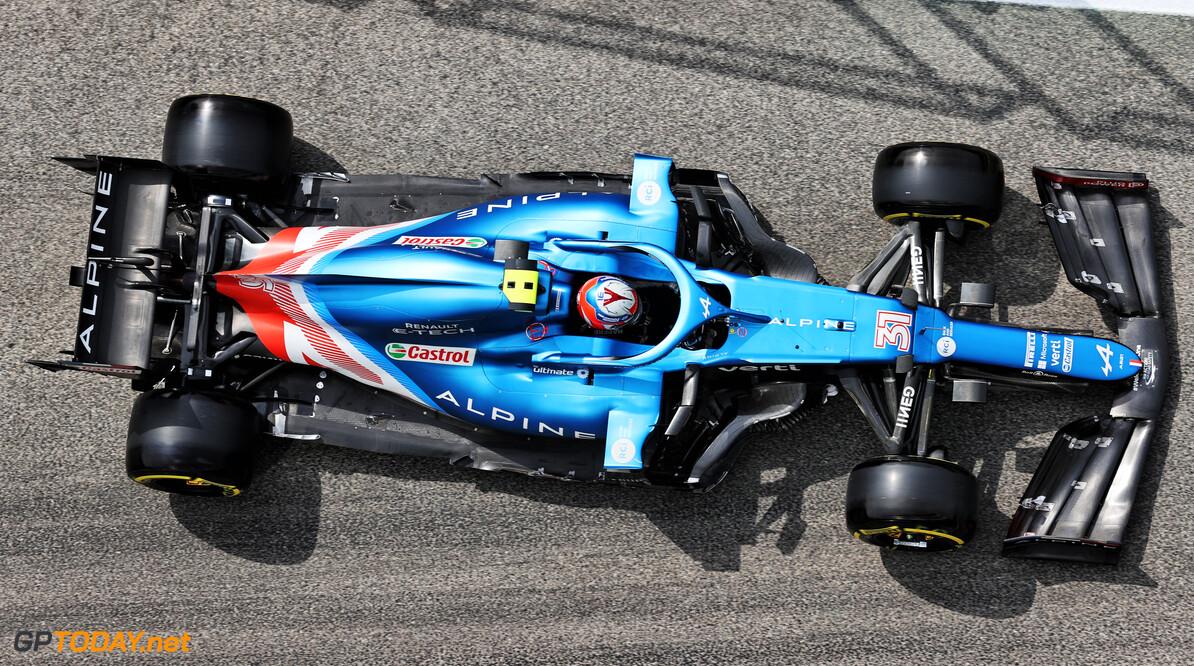 """Esteban Ocon na P9: """"Updates werken, maar geven weinig tijdwinst"""""""