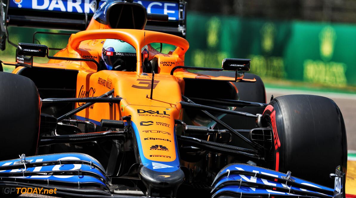 Ricciardo vooralsnog in de schaduw van Norris:
