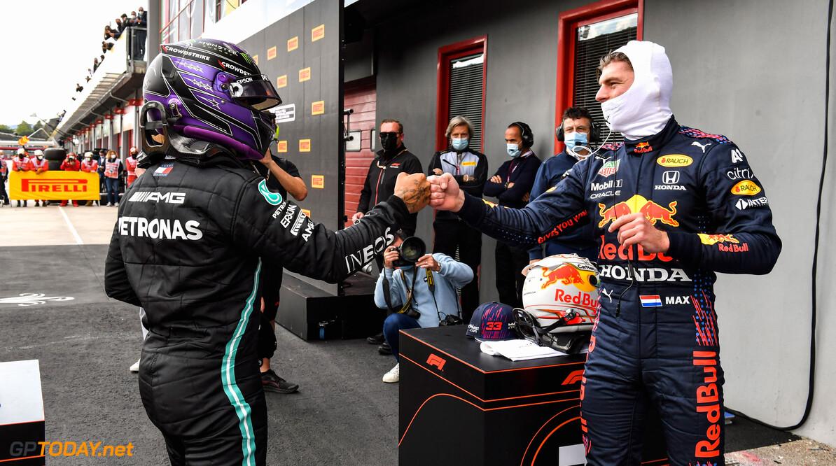 'Max Verstappen en Lewis Hamilton willen niet voor elkaar onder doen'