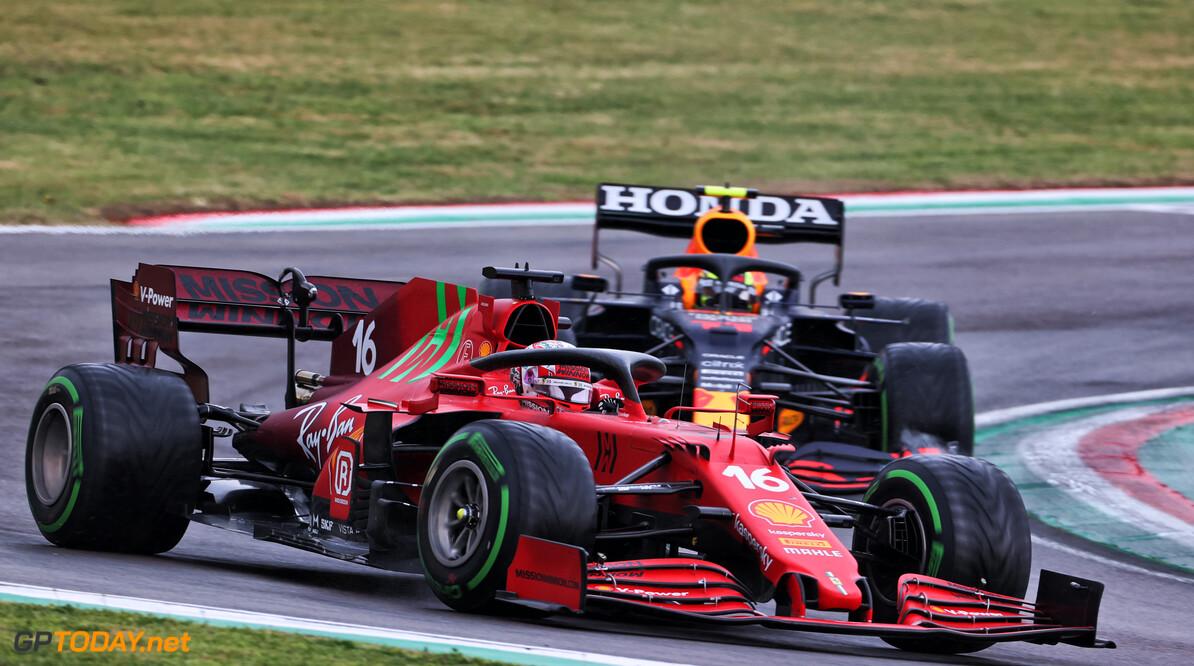 Charles Leclerc rijdt GP Portugal met nieuwe helm