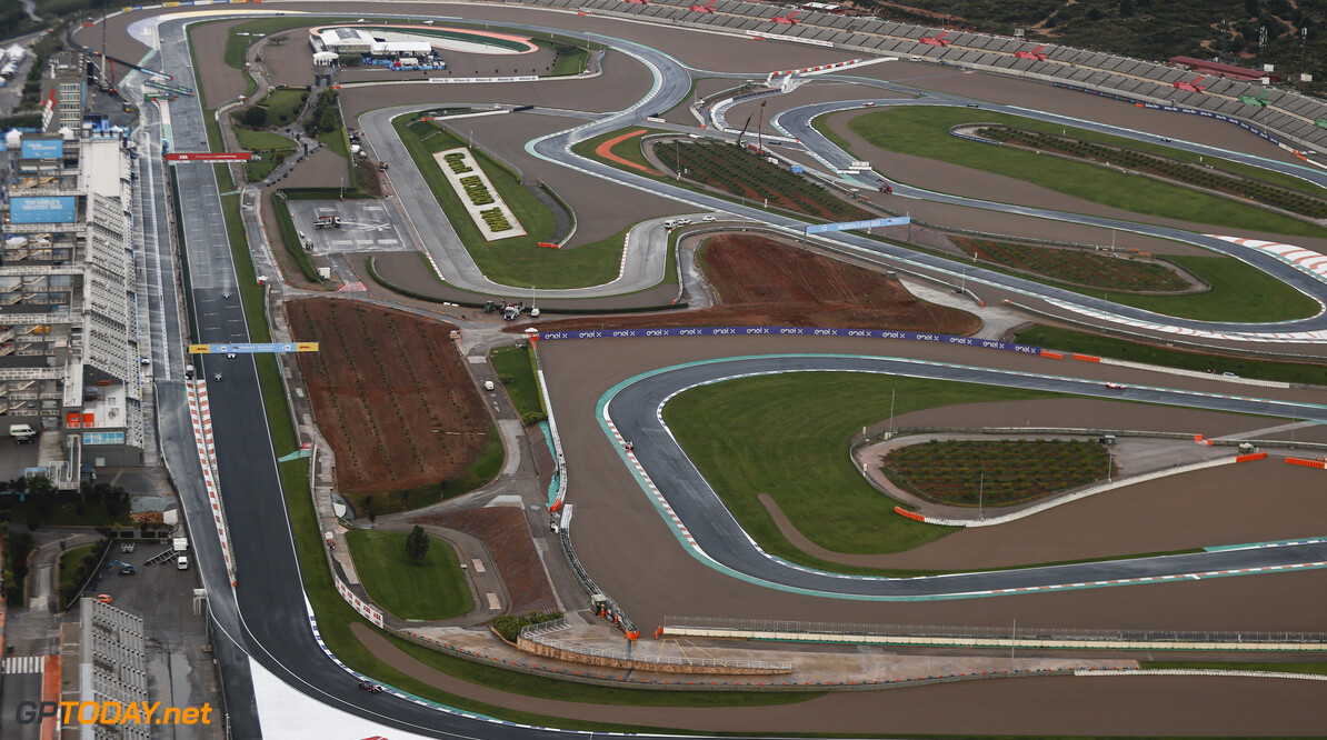 An aerial view of the action  Andy Hone Valencia Spain  Action Aerial TS-Live