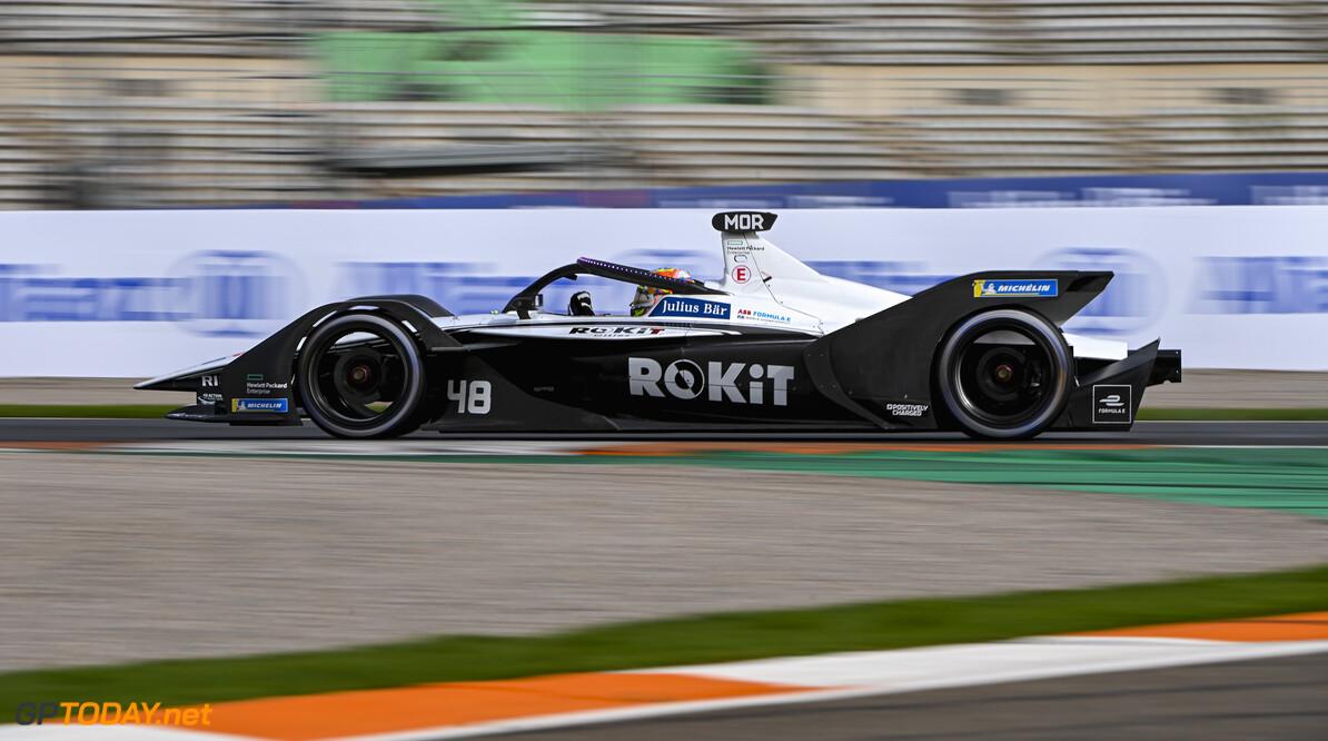 Edoardo Mortara (CHE), Venturi Racing, Silver Arrow 02   Sam Bagnall Valencia Spain  action TS-Live Sunday Venturi