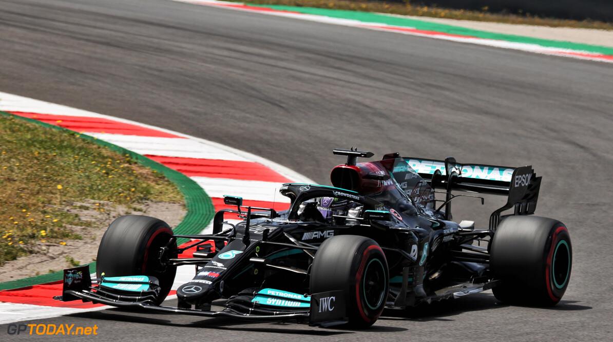 """Lewis Hamilton piekt te vroeg in kwalificatie: """"Geweldig gedaan door Valtteri"""""""