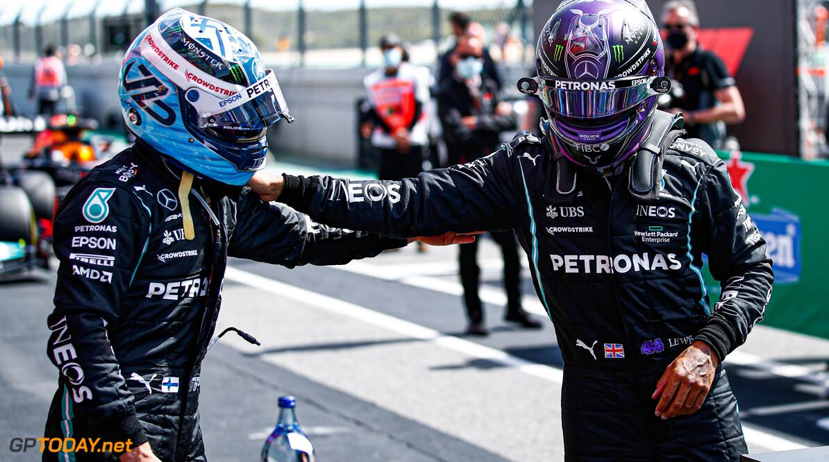 """Valterri Bottas kan wel  janken na zijn P3 in Portimão: """"Begrijp niet waar het mis ging"""""""