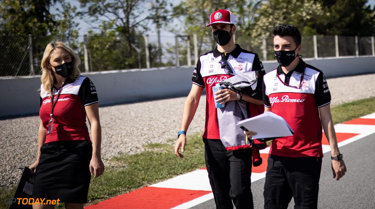 Antonio Gionivazzi is zijn toekomst bij Alfa Romeo niet zeker