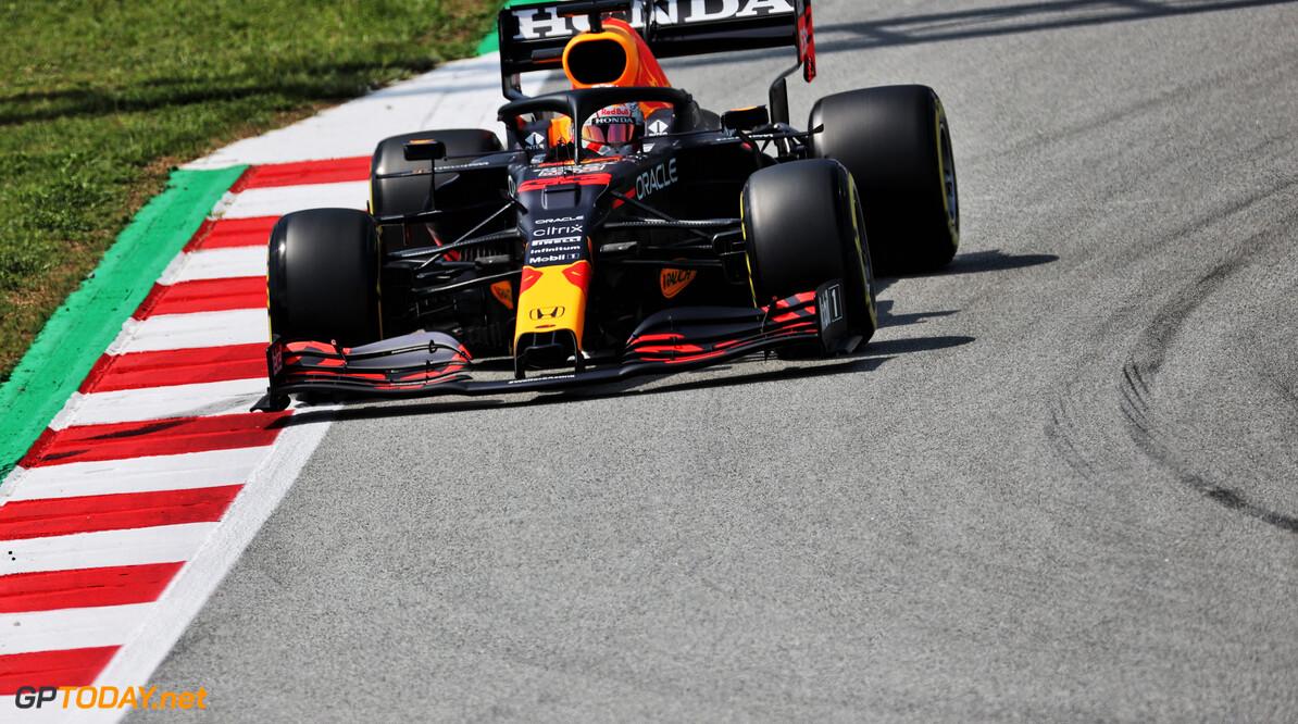 <b>Samenvatting VT3 GP Spanje:</b> Verstappen snelste voor Hamilton en Leclerc
