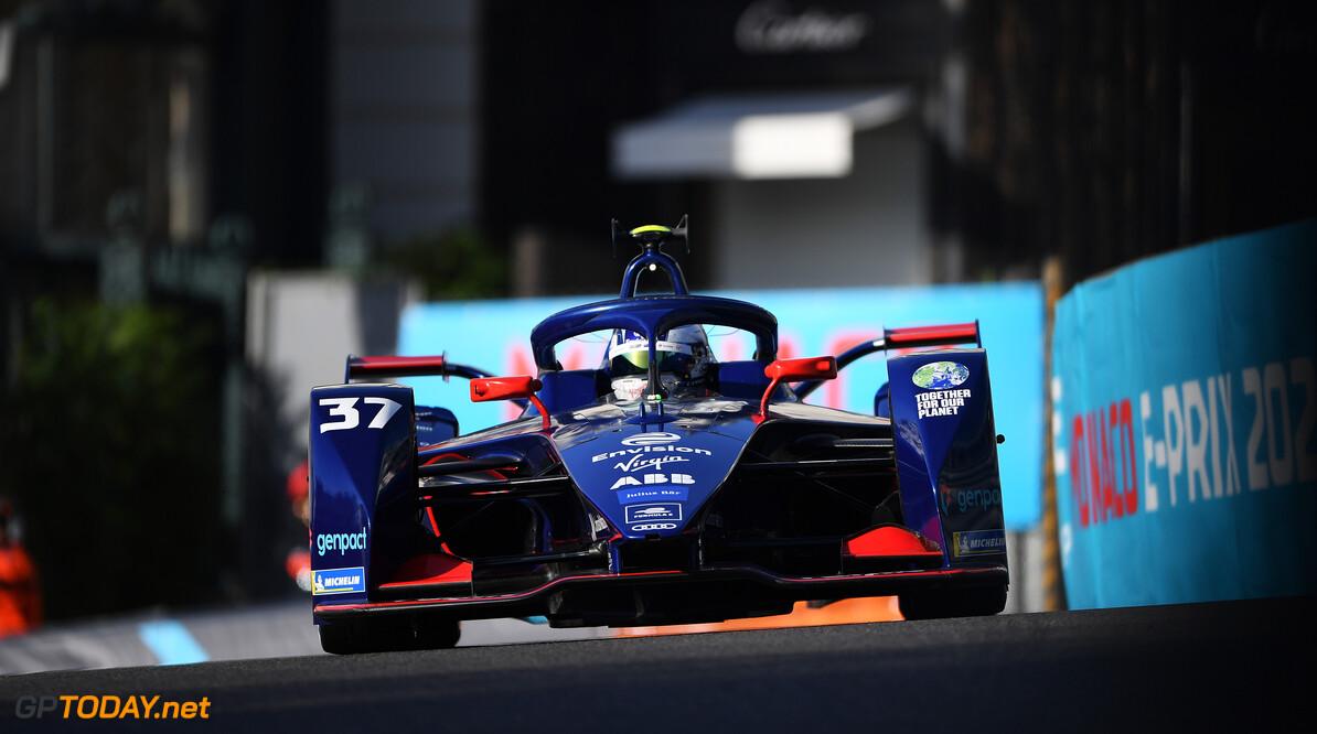 Nick Cassidy (NZL), Envision Virgin Racing, Audi e-tron FE07  Simon Galloway Monte Carlo Monaco  action TS-Live Saturday Envision