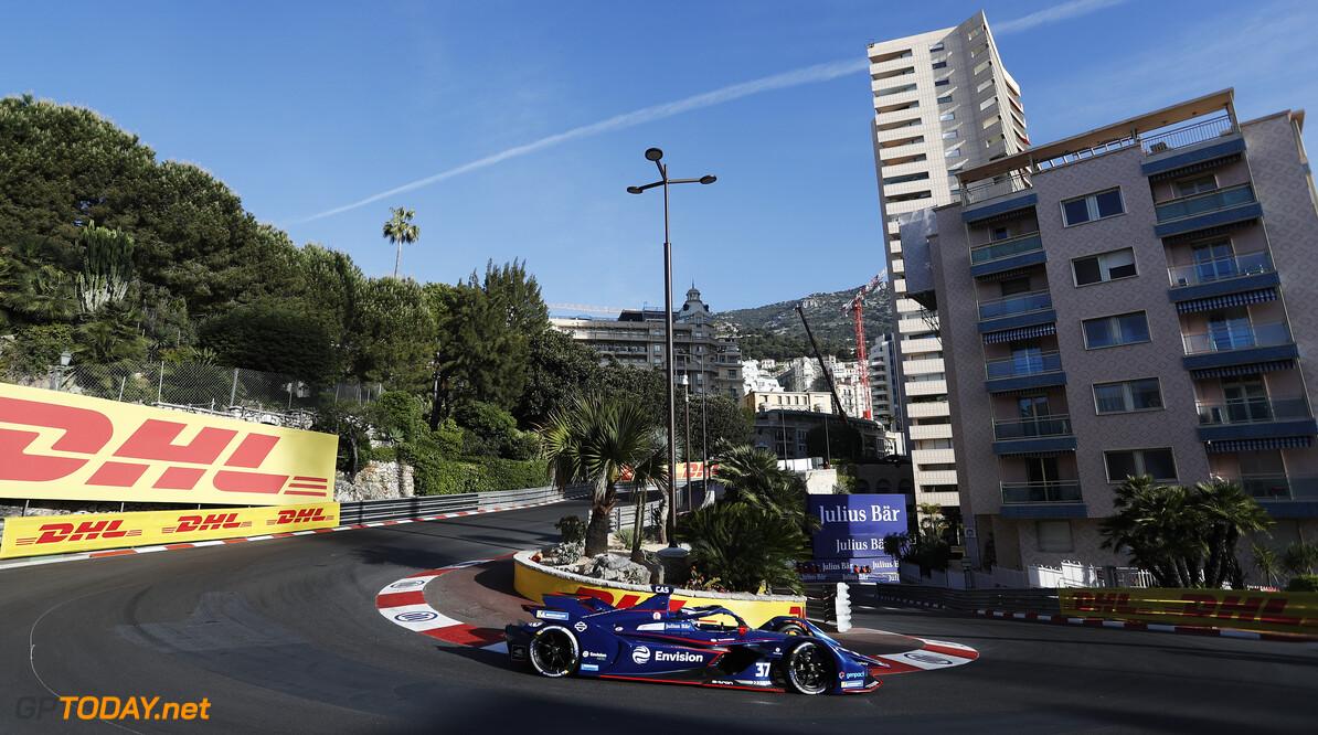 Nick Cassidy (NZL), Envision Virgin Racing, Audi e-tron FE07  Alastair Staley Monte Carlo Monaco  action TS-Live Saturday Envision