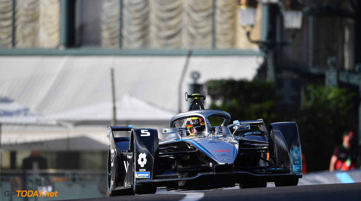 Stoffel Vandoorne (BEL), Mercedes Benz EQ, EQ Silver Arrow 02  Simon Galloway Monte Carlo Monaco  action TS-Live Saturday Mercedes