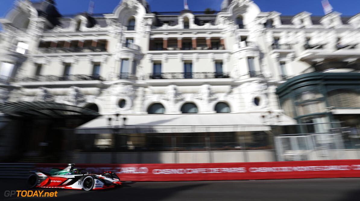 Lucas Di Grassi (BRA), Audi Sport ABT Schaeffler, Audi e-tron FE07  Sam Bloxham Monte Carlo Monaco  action TS-Live Saturday Schaeffler