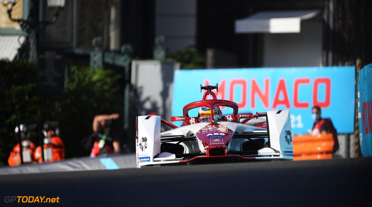 Sergio Sette Camara (BRA), Dragon Penske Autosport, Penske EV-5  Simon Galloway Monte Carlo Monaco  action TS-Live Saturday Dragon