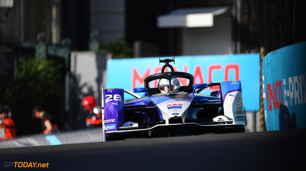 Maximilian Guenther (DEU), BMW I Andretti Motorsports, BMW iFE.21  Simon Galloway Monte Carlo Monaco  action TS-Live Saturday BMW